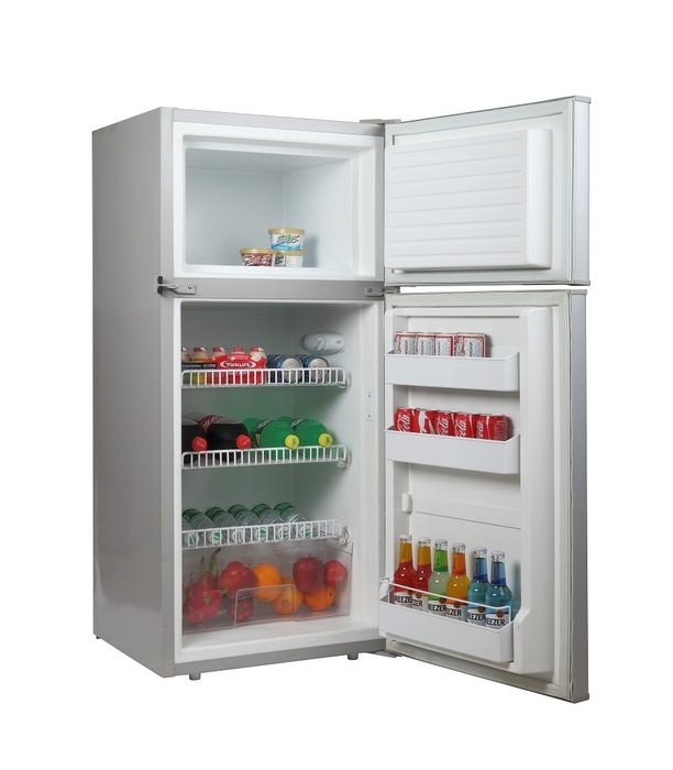 DC175 PLATINUM UPRIGHT FRIDGE*FREEZER