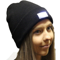 Australian RV Accessories 5 LED Beanie Black