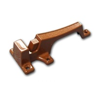 1126 CUPBOARD CATCH - BROWN 2 PIECE