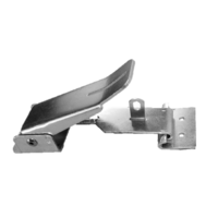 Lockable Roof Clamp & J Hook For Pop-Top - Silver