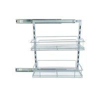 Roll Out Pantry Sliding Shelf W/ 2 - 110MM Basket 000122