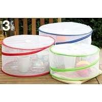Food Covers Pop Up Set of 3