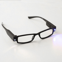 Magnified Reading Glasses 2.5 LED New Fishing Camping Parts Accessories