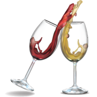 CRYSTAL CLEAR TRITAN RED WINE GLASSES - SET OF 4