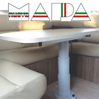 Nuova Mapa Adjustable Telescopic Table Leg 330mm to 710mm