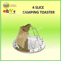 Toaster Camping 4 Slice Cookware Caravan Hiking Accessories RV Open Fire