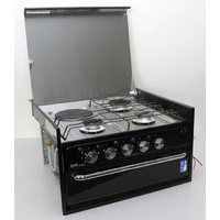 SWIFT 4 BURNER COOKTOP AND GRILL - GAS/ELECTRIC