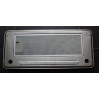 SWIFT RANGEHOOD, S/STEEL, LED (FLUSHMOUNT SQFRHSFR2)
