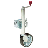 "AL-KO JOCKEY WHEEL 8"" SWIVEL BRACKET"