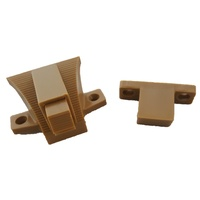 Caravan Cupboard Door Latch Catch Handle LIGHT BROWN SP115-LB 2 PIECE