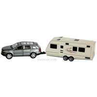 DIE CAST 4WD AND CARAVAN