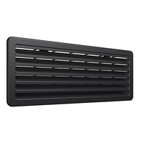 THETFORD LOWER VENT KIT BLACK - SINGLE W/O SCREEN