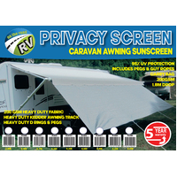 Caravan Awning Privacy Screen 3.4m New Sun Shade Accessories Parts Suits 12'/13'