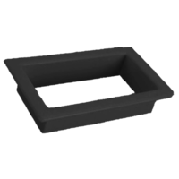 Large Scupper Vent Insert - Black