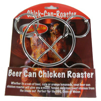 Chicken Roaster Beer Can BBQ