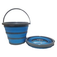 Collapsible Space Saving Products Deluxe 10LTR Bucket