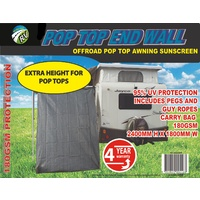 ON THE ROAD RV 4WD POP TOP PRIVACY SCREEN END WALL