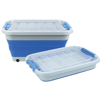 COLLAPSIBLE SILICONE 30L STORAGE TUB