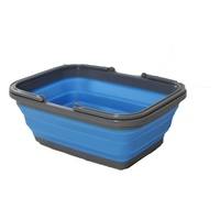 Collapsible Silicone Basket with Handles