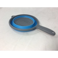 Collapsible Silicone Colander with Handle
