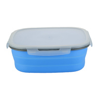 COLLAPSIBLE SILICONE CAKE STORAGE CONTAINER