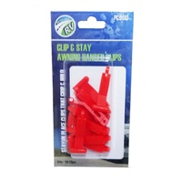 CLIP & STAY AWNING HANGER CLIPS 10 PACK