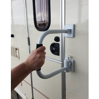 Arm-A-Lock Security Door Handle