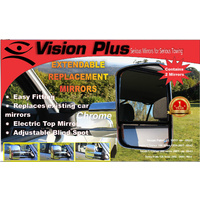 Vision Plus Mirrors TOYOTA PRADO 150 SERIES 2009 -> With Indicators