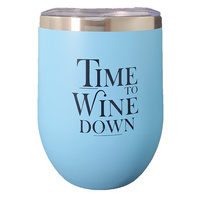 Blue Keep Cup - Time to Wine Down