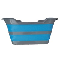 Collapsible Space Saving Products Deluxe Laundry Basket Pop Up/Down 0481