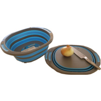 Collapsible Chopping Board Basin Combo