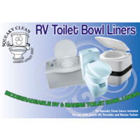 Squeaky Clean RV Toilet Bowl Liners