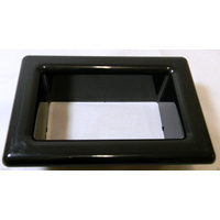 Small Scupper Vent Insert - Black
