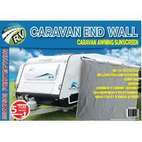 Caravan End Wall Shade Screen