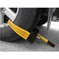 Universal Anti Theft Wheel Clamp, Caravan, Boat, Trailer Accessories