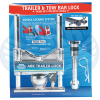 Ark Premium Trailer Coupling and Tow Bar Hitch Lock ATL155