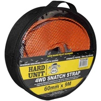 HARD UNIT 6500KG SNATCH STRAP 60MM X 9M