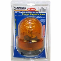 Revolving Warning Light 12V Car Caravan AutoKing Truck Parts Accessories Boat Trailer