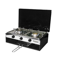 Camper-Lido Junior Deluxe 2 Burner with Grill (No Flame Safe)