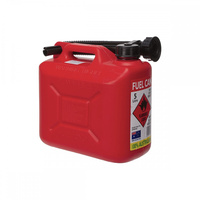 5 LITRE FUEL JERRY CAN - RED
