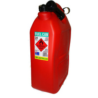 20 LITRE FUEL JERRY CAN CAMPING, 4WD'S  CARAVANS & RV'S