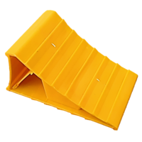 LARGE YELLOW WHEEL CHOCK