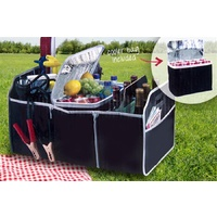 COLLAPSABLE CAR BOOT ORGANISER & COOLER