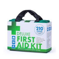210 PIECE DELUXE FIRST AID KIT