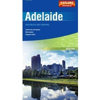 Adelaide Map Explore Caravan Motorhome Camping RV Accessories Parts Travel
