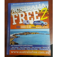 Australia Free 2 Travel Guide Book New Caravan Camping RV Motorhome Accessories