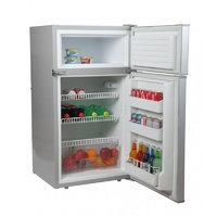 DC146 PLATINUM UPRIGHT FRIDGE FREEZER