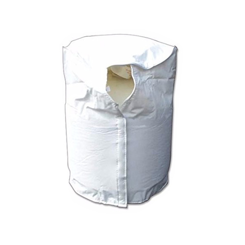 SINGLE 9KG GAS BOTTLE COVER - WHITE