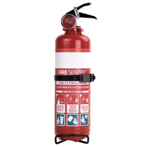 FIRE SENTRY 1KG FIRE EXTINGUISHER